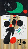 Joan Miro Interior and night Giclee Canvas Print Paintings Poster Reproduction