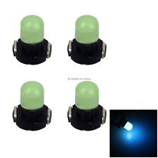 4x Ice Blue Car T3 Light NEO Dash Twist Socket HVAC Cluster Blub 1 LED Z2954