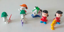 Lote de 7 figuras Snoopy Ferrero Kinder Figurine. Figure.