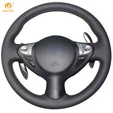 Black Leather Wheel Cover for Infiniti FX35 FX37 Nissan Juke Sentra 2016 2017