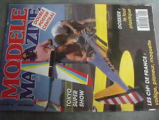 $$s Revue modele magazine RCM N°457 Supreme Graupner  Servos Sanwa  Typhoon