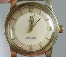 Vintage 1954 Omega Seamaster Bumper Automatic Watch WORKS RUNNING