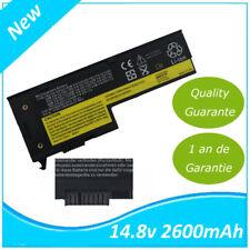 2600Mah Batterie Pour IBM Lenovo THINKPAD X60 X60s X61 X61s 40Y6999 40Y7001