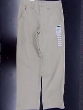 Girls Universal Uniform Khaki Flat Front Pants Size 6X - 20