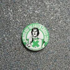Retro Green Cross Code Sammlerstück Pin Abzeichen. DAVID PROWSE Free p&p vt76