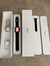 Apple Watch Series 3 42mm Space Gray Aluminium Back Sport Band (GPS + Cellular)