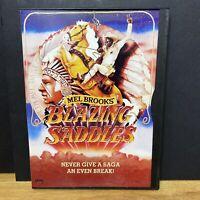 Blazing Saddles (DVD, 1997, Standard and letterbox) Mel Brooks Gene Wilder NICE