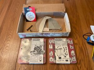 Craftsman table saw accessories set 7-in. dado blade set molding head cutters