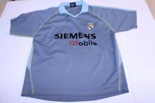 Men's Real Madrid L Soccer Futbol Jersey (Grey) Megga Sports Jersey