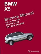 BMW X5 E53 3.0i 4.4i 4.6is 4.8is Manual De Servicio De Reparación Propietarios Manual Libro