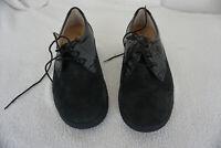 FINN COMFORT Damen Schuhe Schnürschuh mit Einlagen Gr.6,5 / 40 Schwarz Leder NEU