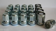 16 X M12X1.5 WOBBLE VARIABLE WHEEL NUTS & LOCKING FIT JAGUAR XF XFR