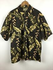 Cooke Street Hawaiian Aloha 2XL Shirt Floral 100% Crisp Cotton Casual Button S/S