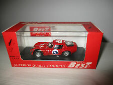 ALFA ROMEO TZ2 TARGA FLORIO 1966 BEST MODEL SCALA 1:43 (9105)