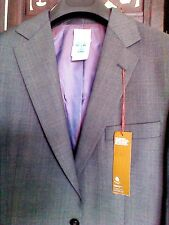 M&S Collezione Regular Fit Men's Suit Jacket Grey Long Chest 102cm/40in