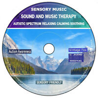Autism Sensory Sound And Music Autistic Spectrum Relaxing Calming Soothing CD
