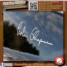 Sticker autocollant Signature Colin Chapman Decal Lotus Elise Exige Evora decal