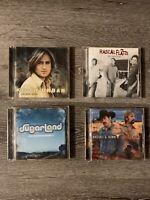 Set of 4 Country Music CDs Keith Urban Rascal Flats Sugarland Brooks & Dunn CDs