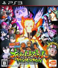 PS3 Naruto Shippuden Ultimate Storm Revolution Japan Import Japanese Game Ninja