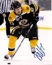 Brian McGrattan Boston Bruins tough guy signed 8x10 Calgary Flames