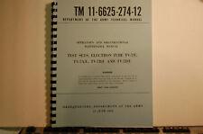 TV-7 Tube Tester Operators & Maintenance Manual Reprint