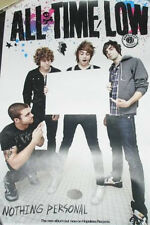 ALL TIME LOW - POSTER Group Logo Nothing Personal - NEW