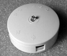 JUNCTION BOX 5A 4 TERMINAL 230V WHITE 5 AMP suit low voltage LED camper lighting