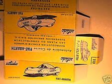REPLIQUE  BOITE FIAT ABARTH DE RECORD  1963 SOLIDO