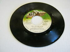 John Wesley Ryles Run Right Back/Tell It Like It Is 45 RPM Music Mill Records
