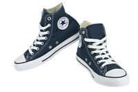 Converse Chuck Taylor All Star Navy White Hi Top Youth Kids Boy Girl Size 11-3