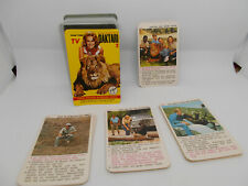 QUARTETT == DAKTARI Fernseh Nr.318 == Kartenspiel von 1968 Ferd.Piatnik - Wien