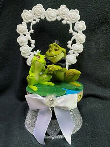 Princess and Frog Tiana & Naveen Disney Wedding Cake Topper Groom top Birthday