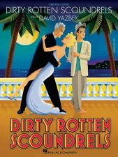 Dirty Rotten Scoundrels Sheet Music Vocal Selections NEW 000313305
