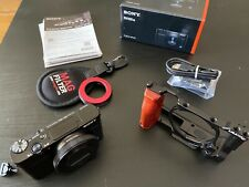 Sony Cyber-shot DSC-RX100 VII - 20.1MP Point & Shoot Digital Camera With Extras