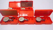 Testatast Test Dial Indicators Swiss Made 0001 With Plastic Case Lot Of 5