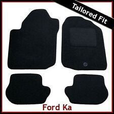 FORD KA Mk1 1996-2008 Tailored Carpet Car Floor Mats BLACK
