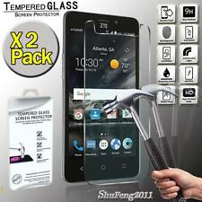 2 Pack Genuine Tempered Glass Film Screen Protector Cover For ZTE Sonata 3