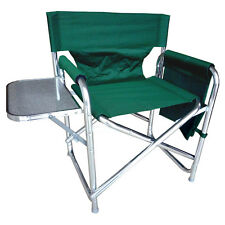 Vert robuste portable voyage camping REALISATEUR chaise-Poches & Table