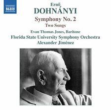 Evan Thomas Jones - Dohnanyi: Symphony No. 2 [Alexander Jimenez, Evan [CD]