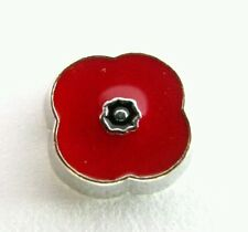 'POPPY' Flower Floating Charm For Glass Living Memory Lockets