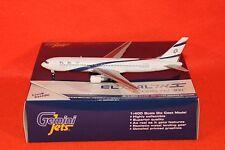 GEMINI JETS 1270 ELAL BOEING 767-300 reg 4X-EAN 1-400 SCALE