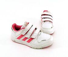 Adidas Ortholite Sneaker Halbschuhe Klettverschluss weiß Gr. 33