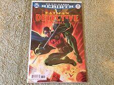 Detective Rebirth 939 Barrows cover Version A comic book Dc Comics batman
