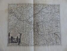 Carte du Gouvernement de l'Isle de France - Pierre VANDER AA-1720