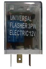 Loud 3 Pin Universal LED Flasher Blinker Light Relay 12V Car Motorcycle Signal