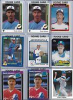 Randy Johnson Mariners Rookie Lot of (11) w/ 1987 True RC & 1989 UD HOF BV$78.00