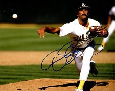 GFA Oakland Athletics Legend * DENNIS ECKERSLEY * Signed 8x10 Photo AD1 COA