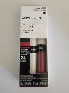 Covergirl Outlast All-Day Lip Color With Topcoat, Wild Berry 560 New
