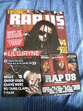 Rap US N°42 Decembre/Janvier 2009 - Lil Wayne,Snoop Dogg,Wu Tang,Nas,The Game