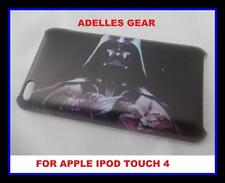 FOR APPLE IPOD TOUCH 4 -STAR WARS DARTH- HARD BACK CASE COVER